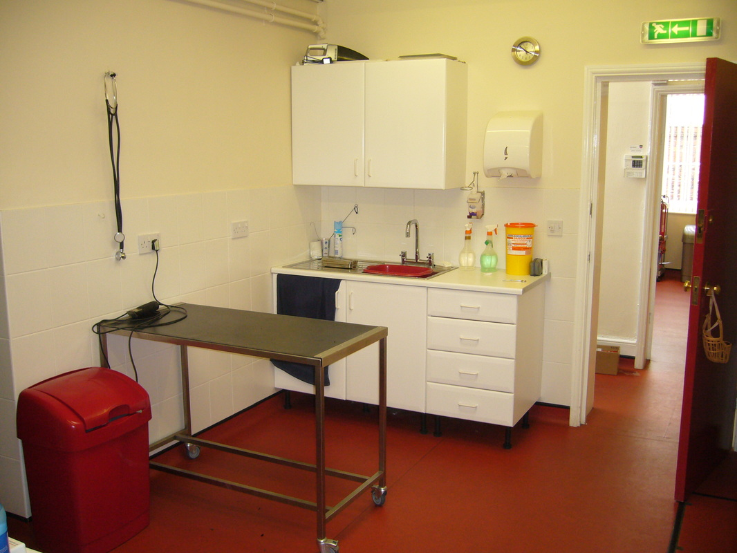 Barton Veterinary Centre Prep Room